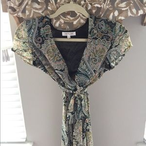 WYLDR Paisley Maxi Dress Size XS